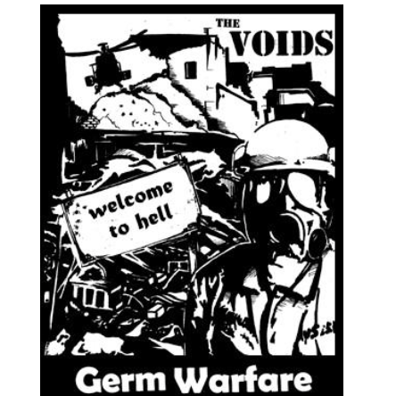 VOIDS - Germ Warfare - Back Patch